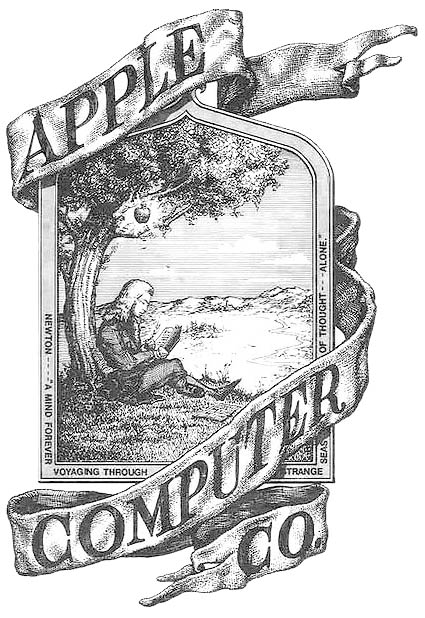Primer logo Apple